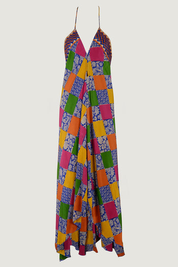 Josefina Dress - Silk Print