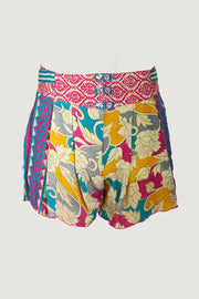 Azura Silk Shorts - High Waisted Softly Fitted - Limited Edition