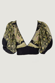Latasha Top - Silk Print