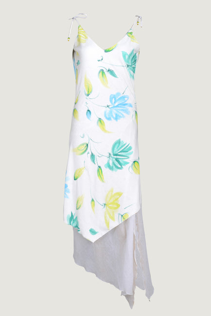 Arleana - Terry Towel Hand Painted Dress