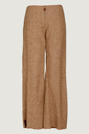 Debbie - Wool Fabric Long Pants
