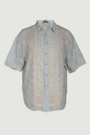 Jorge - Cotton Featherlight Jacquard Short Sleeve Men's Shirt