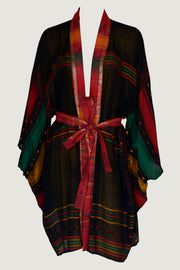 Kinsley Short Kimono - Feather Light Cotton Museum