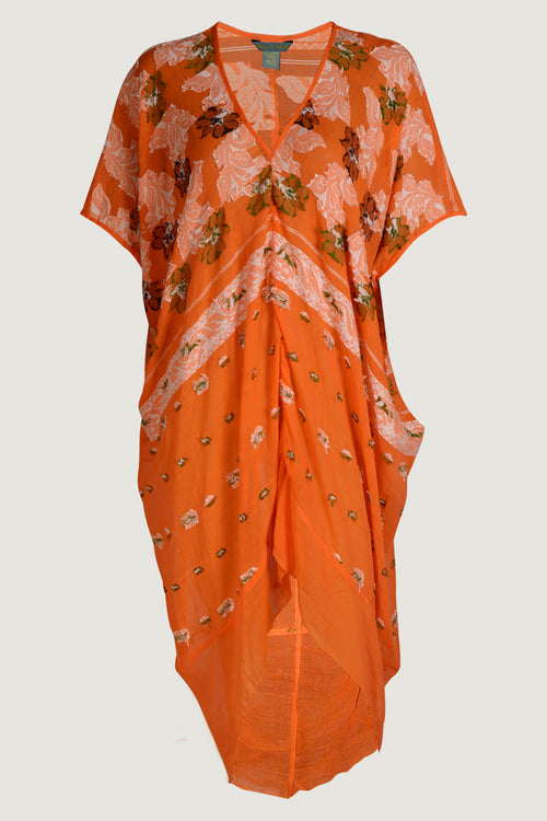 Shakia Simply Elegant Kaftan - Feather Light Cotton Museum