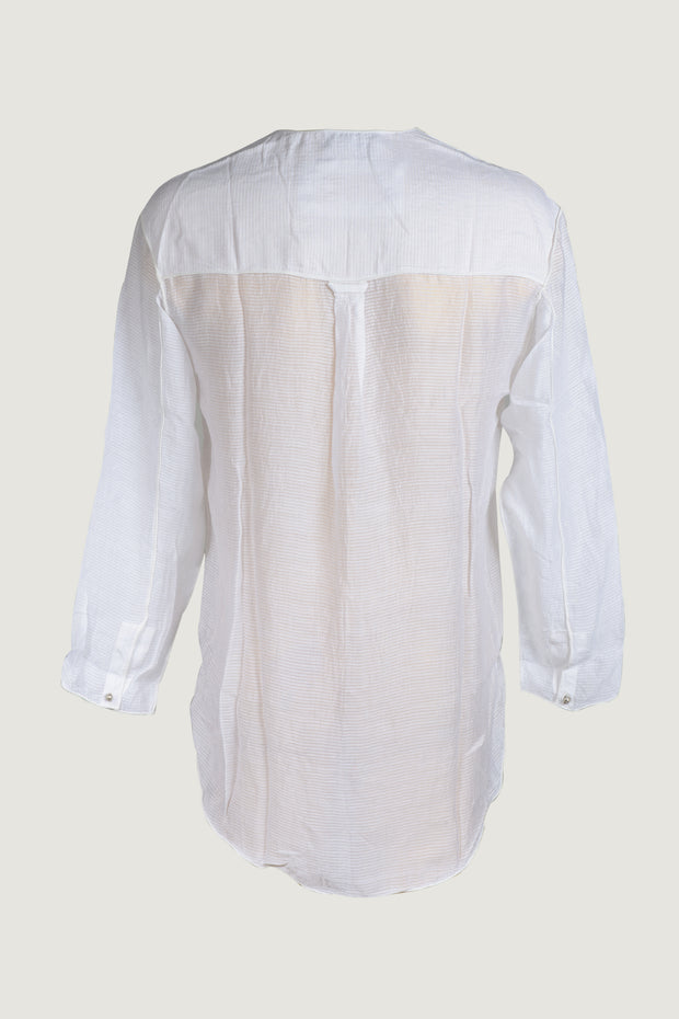 e11d16597ffa5c Peter - Silk Cotton with Metal Buttons