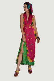 Verasha - Viscose Tye Dye Long Dress