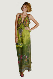 Natasha - Georgette Digital Print Long Dress