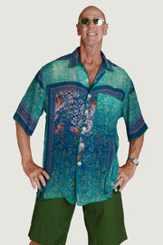 Chadwick Men's Shirt - Georgette Digital Print