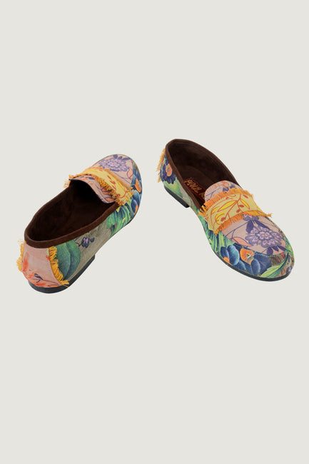 Marioline  Fabric Loafers