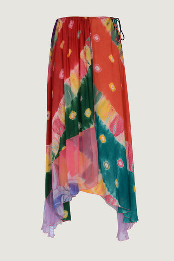 Ksenia Skirt- Hand Cut Silk
