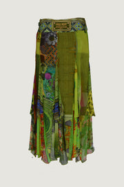 Jorge - Georgette Chiffon Digital Print Skirt