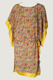 Janice Dress - Hand Crafted Silk Printed