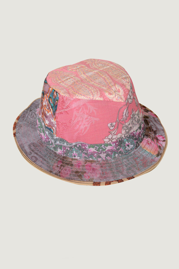 Mont Blanc Chiffon Georgette Hat - Earth