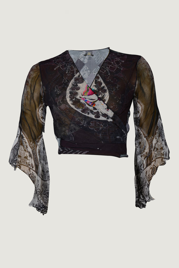 Foster - Crepe Digital Print  Top