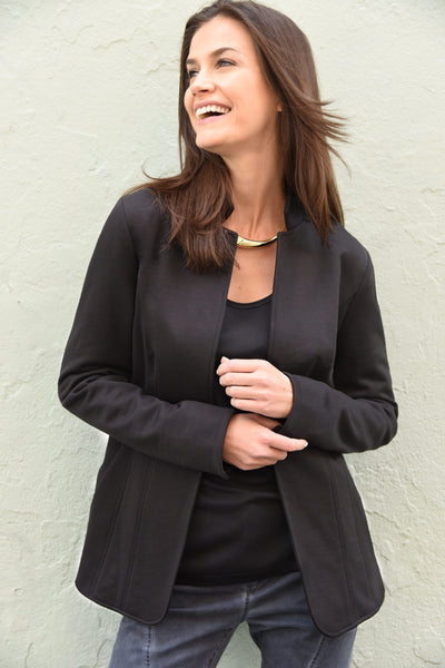 Casual Blazer – Black Jackets The Eight Senses®