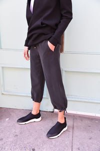 Cropped Pants Pants The Eight Senses® Faded Black S