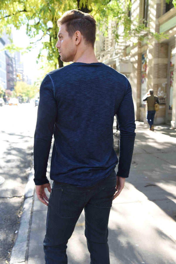 Henley Tops The Eight Senses®