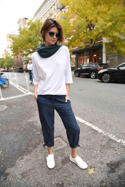 Comfortable Cropped Pants by The Eight Senses