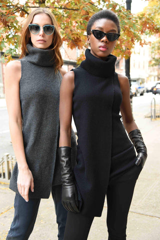 Sleeveless Sweater Tunic Tops The Eight Senses®