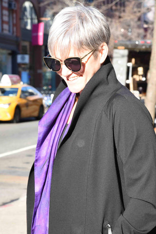 Lavender Scarf Scarf The Eight Senses®
