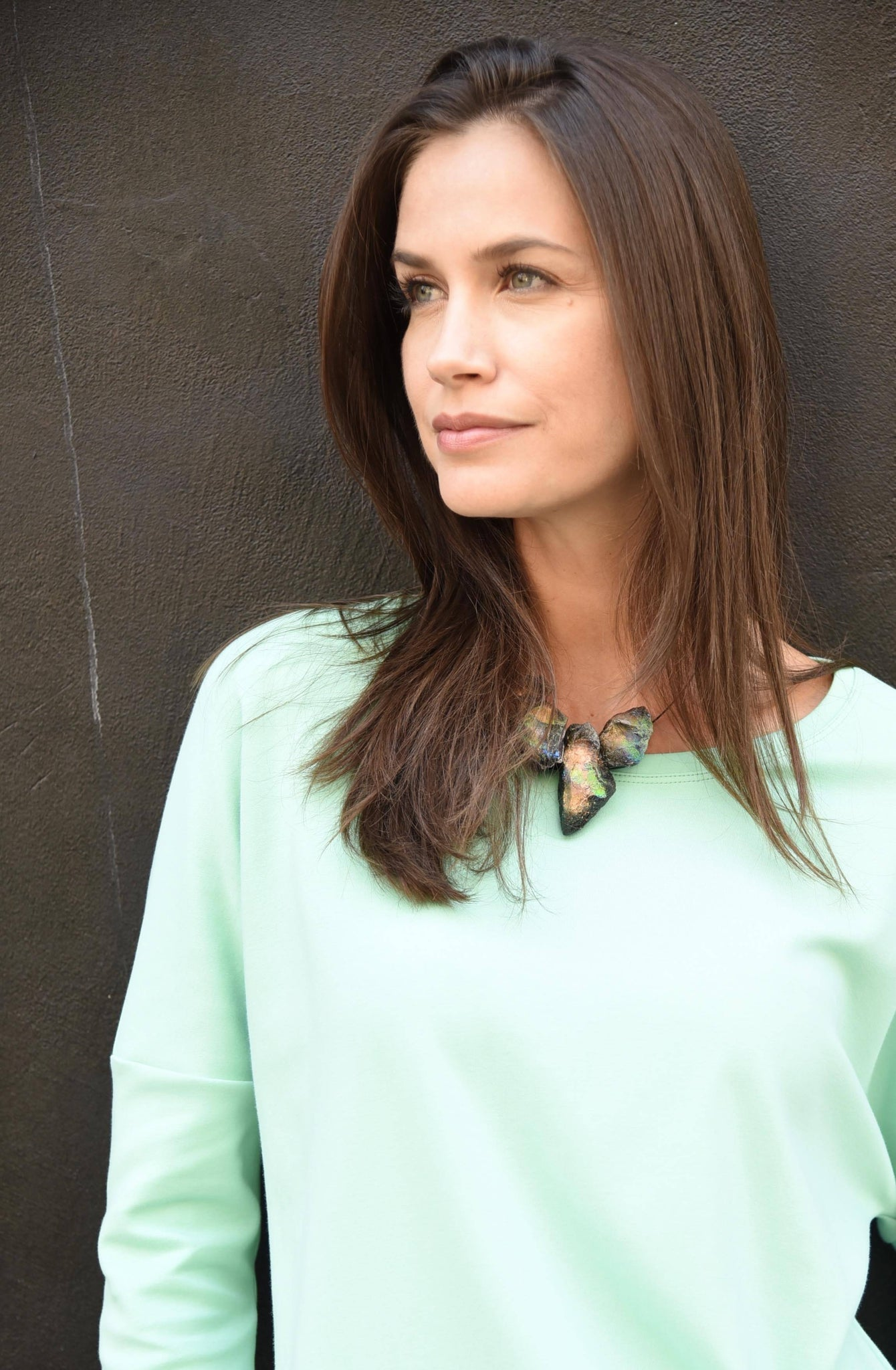 Dolman Tee Tops The Eight Senses® Mint S