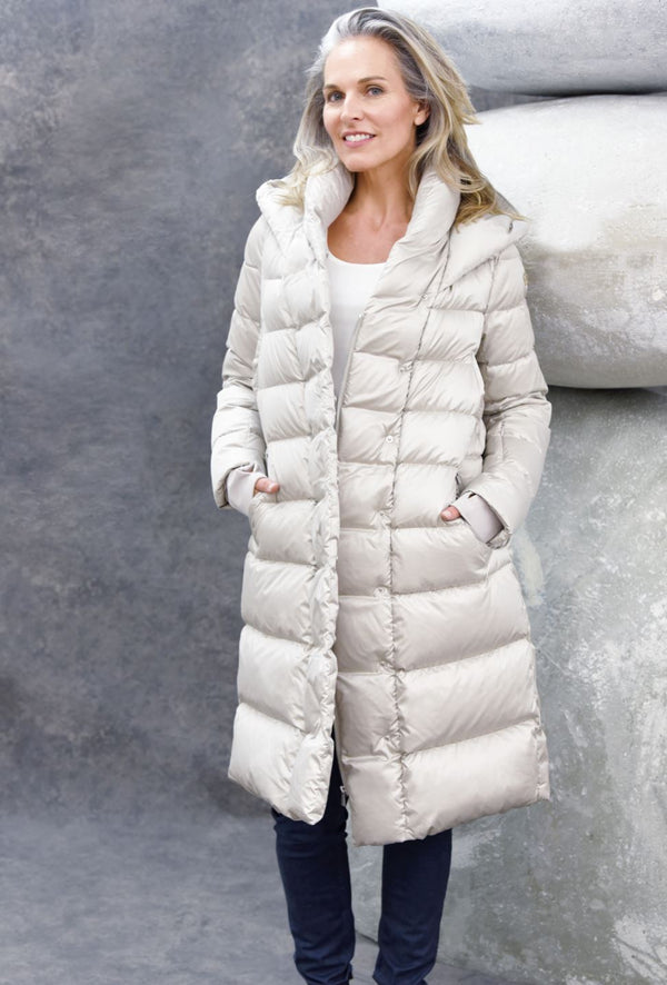 Elegant Puffer Coats The Eight Senses®
