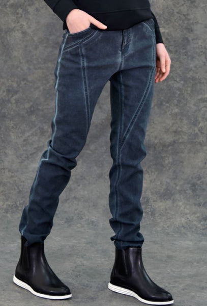 Urban Sense Jean Pants The Eight Senses® Dark Indigo XS