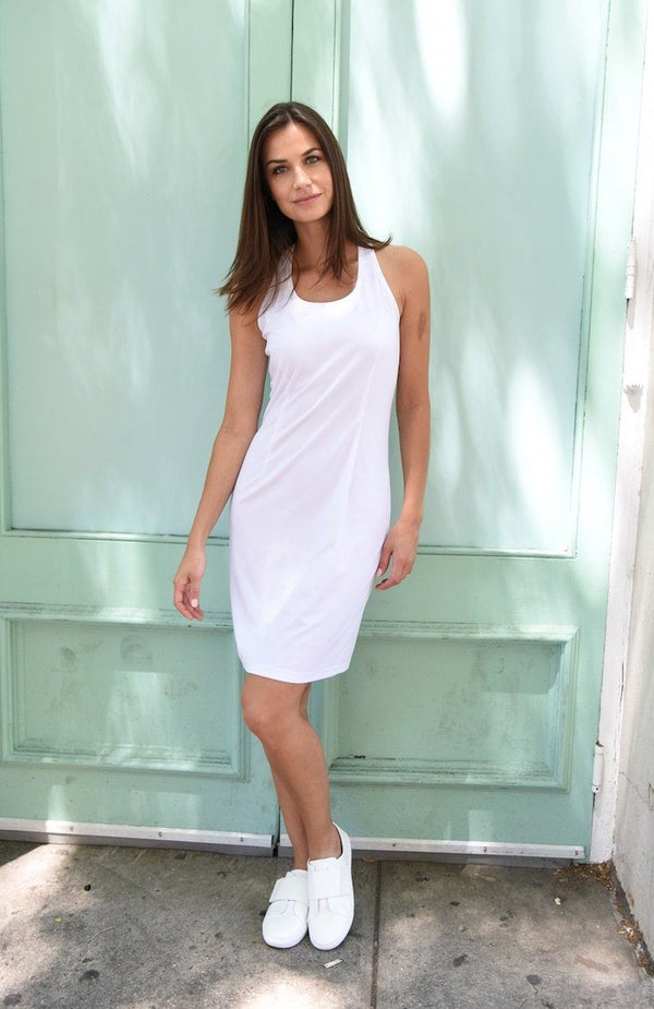 Under Dress Layer Dresses The Eight Senses® White XS