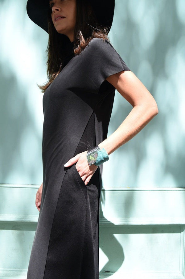 Asymmetrical Side Panel Dress by The Eight Senses