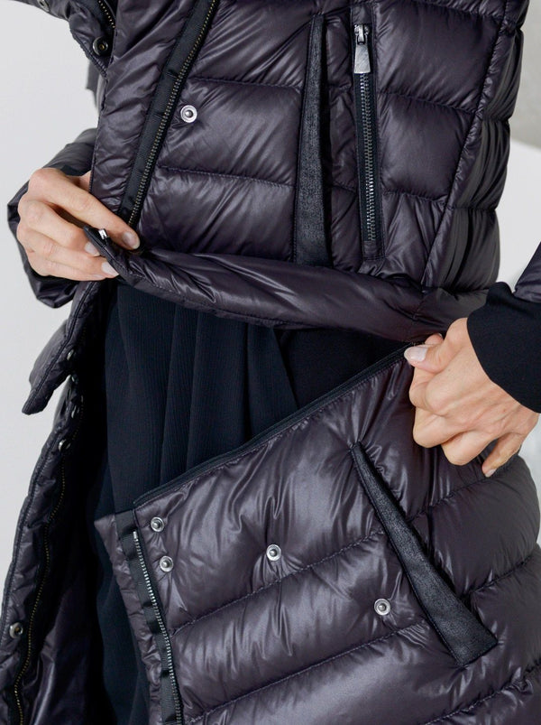 Transformer Versatile Down Puffer Coat by The Eight Senses