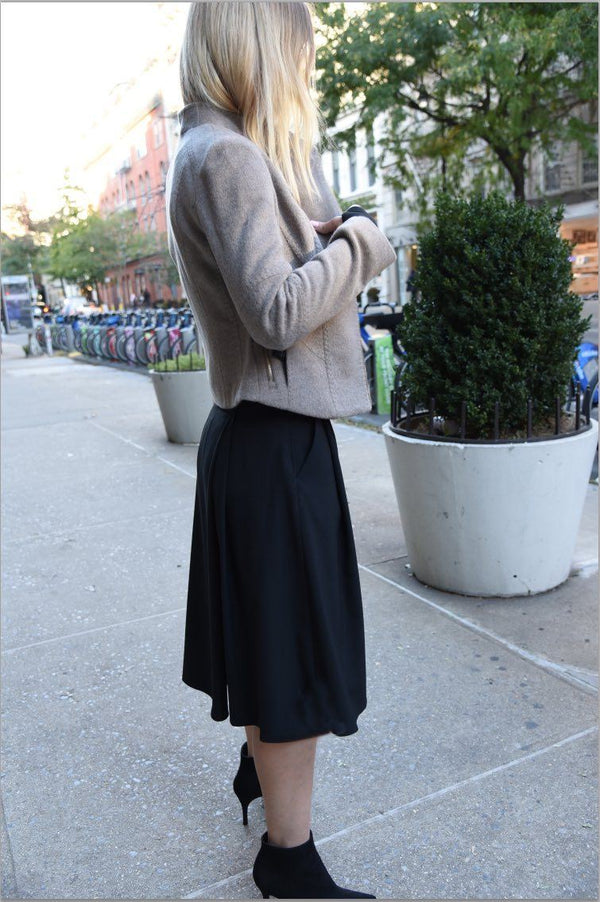 Wide Leg Pant - Cropped Version