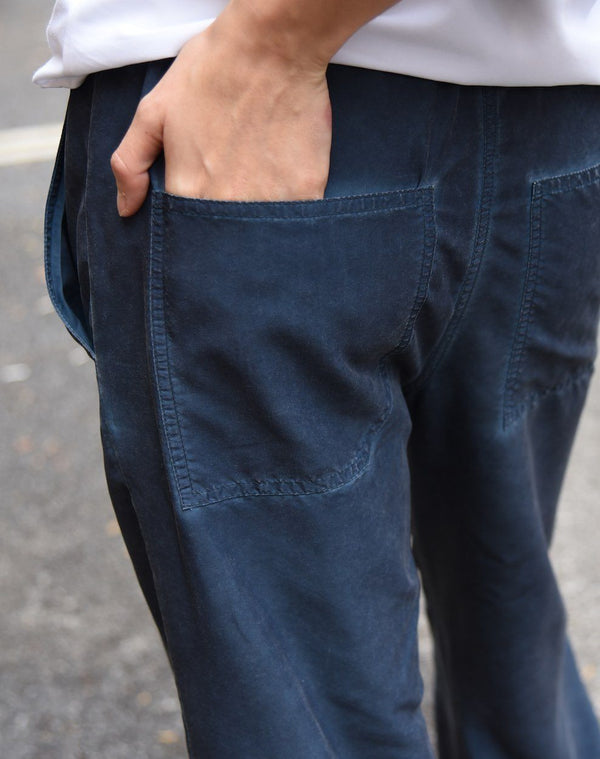 Dyed Cropped Pants Pants The Eight Senses®