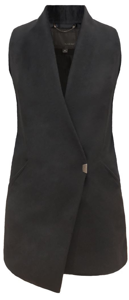 Asymmetrical Vest Vests The Eight Senses®
