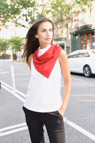 Music-Scarf Scarf The Eight Senses® Red One Size