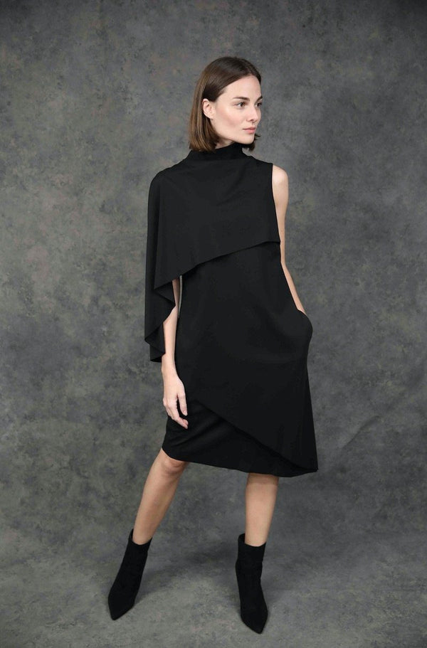 Architectural Dress Dresses The Eight Senses® Black XS