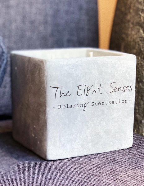 Relaxing Scentsation Soy Wax Candle by The Eight Senses
