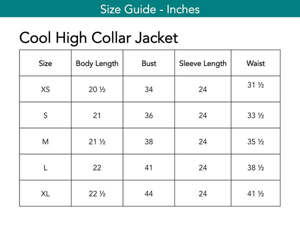 Cool High Collar Jacket Jackets The Eight Senses®