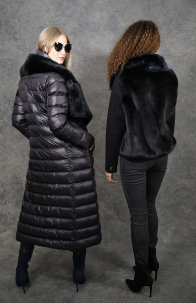 Maxi Puf-Fur Coats The Eight Senses®