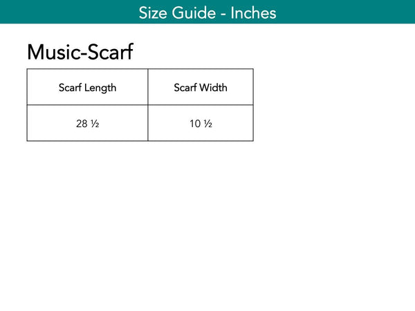 Music-Scarf Scarf The Eight Senses®