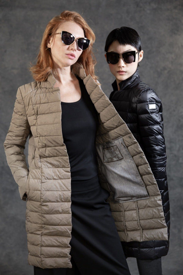 Puffer Blazer Coats The Eight Senses® Sand XS