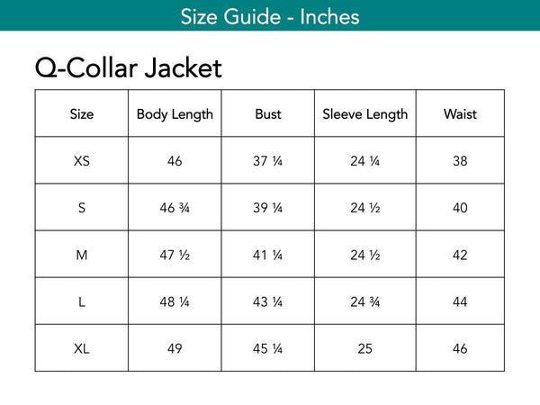 Q-Collar Jacket Jackets The Eight Senses®
