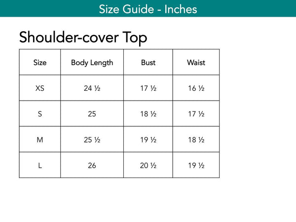 Shoulder-cover Top Tops The Eight Senses®