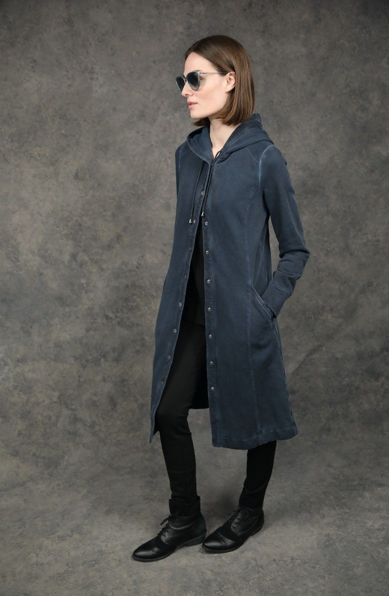 Snap Front Cardigan Dyed Version Jackets The Eight Senses®