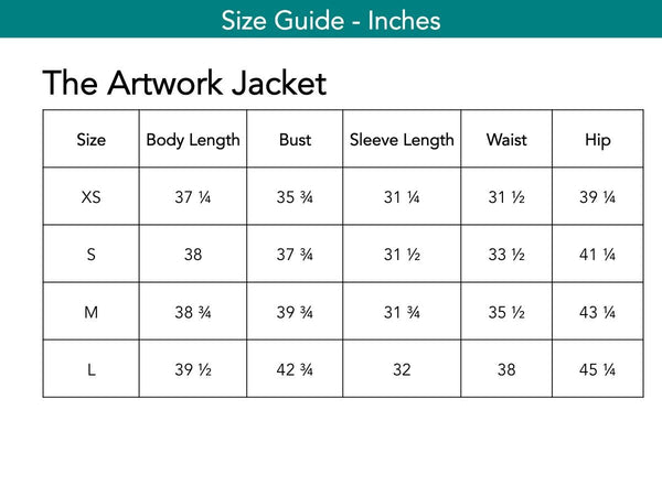 The Artwork Jacket Jackets The Eight Senses®