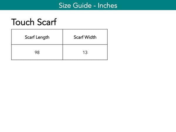 Touch Scarf Accessories The Eight Senses®