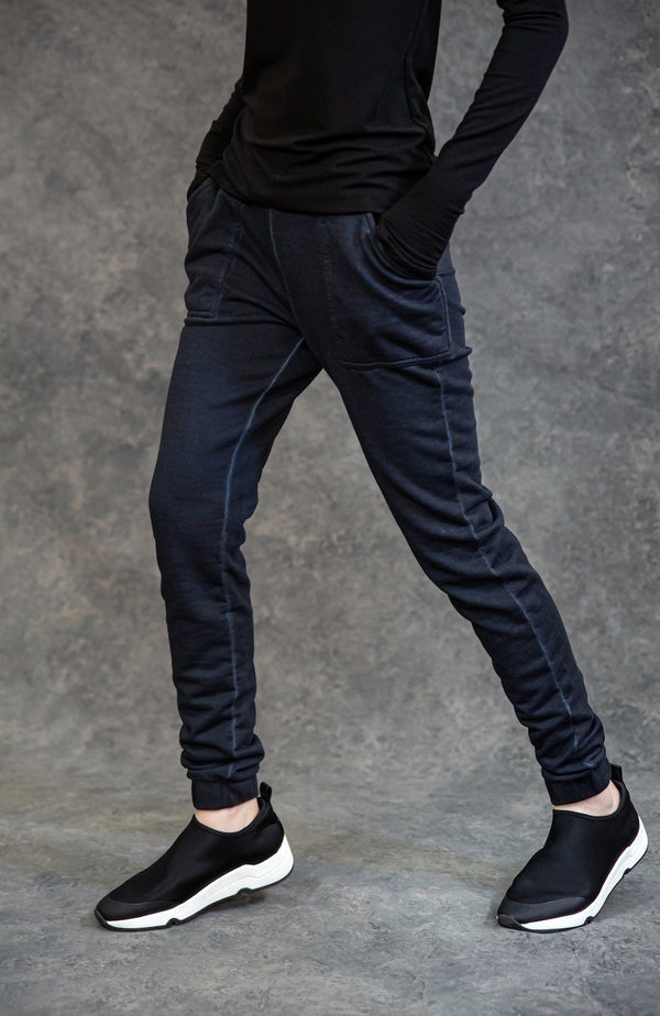 Track Pant Pants The Eight Senses® Dark Indigo S