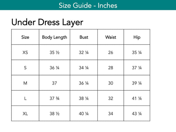 Under Dress Layer Dresses The Eight Senses®