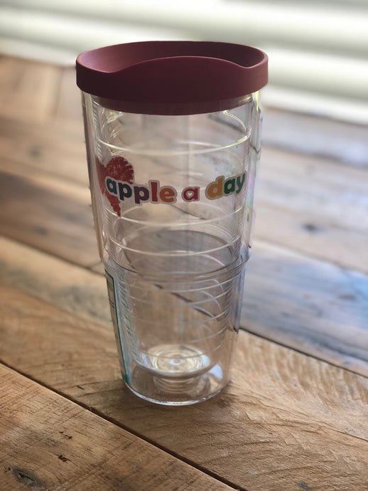 Apple A Day 24oz Tervis Tumbler - suggested minimum donation of $24