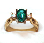 """Emerald Door"" Ring"