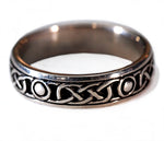 Celtic Knot with circle wedding band